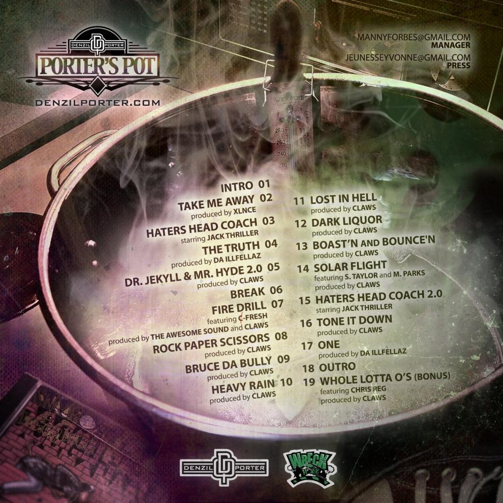 Denzil Porter - Porter's Pot (Inside)